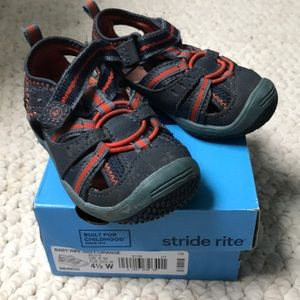 Stride Rite Baby Riff Sneaker Sandals size 4.5 W